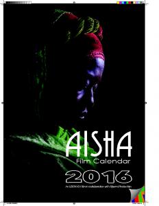 AISHA Film Calendar- 2016