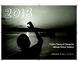 UZIKWASA Calendar – 2018
