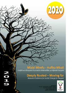 UZIKWASA Calendar – 2020
