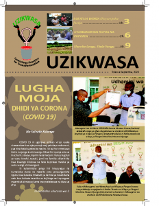 UZIKWASA Newsletter September 2020