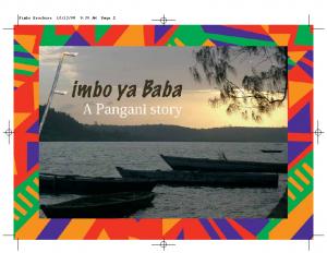 Fimbo ya Baba-Father's Stick