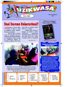 Newsletter – November 2015