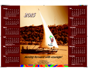 UZIKWASA Calendar – 2015