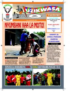 UZIKWASA Newsletter September 2017 pdf